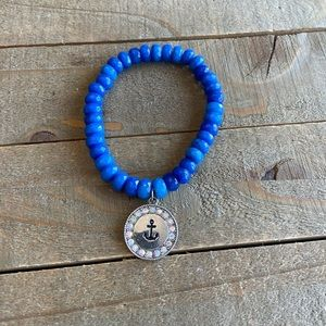 Handmade Natural Jade Achor Bracelet
